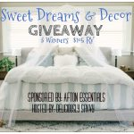 Sweet Dreams & Decor Giveaway (3 Winners!) $105 RV