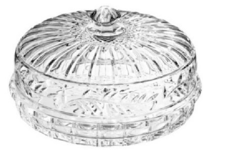 Crystal Pie Plates & Pie Domes