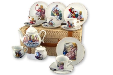 Alice In Wonderland Teapots