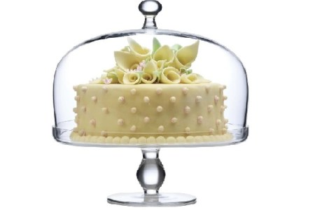 Glass and Crystal Footed Cake Plates