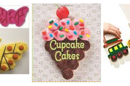 Pull Apart Cupcake Cakes:  Pans, Molds & Books