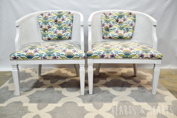 Five Dollar Chairs | www.heartsandsharts.com