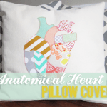 Anatomical Heart Pillow