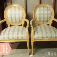 Chair Makeover with Premier Prints