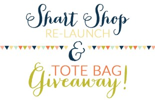Shart Shop Re-Launch & Tote Bag Giveaway | Hearts & Sharts | www.heartsandsharts.com