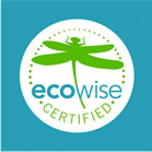 This is the logo of the EcoWise Certified program directed by birc.org