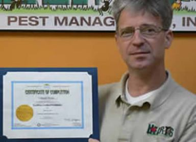 EcoWise Certified Practitioner and Owner of 1st EcoWise Certified Company in Southern California