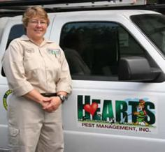 Stevie, supervisor at Hearts Pest Management - U.S. Vet