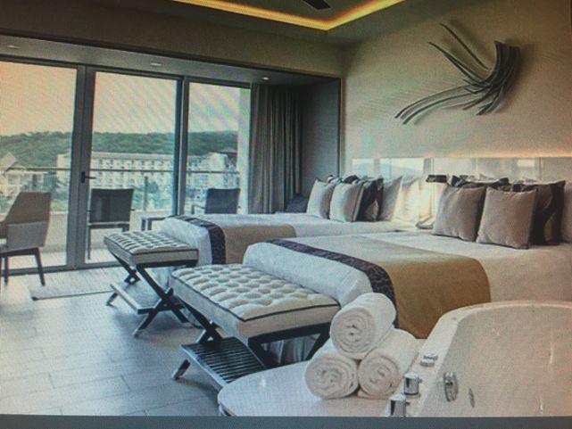 Ocean-view suite