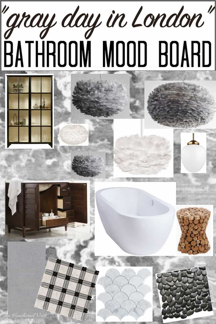Hairy Bathroom Vanity Bathroom Accessories Grey Bathroom Mood Board On A Grey Grey Ooohh This Master Bathroom Mood Board Inspiration Grey houzz-03 Grey And White Bathroom
