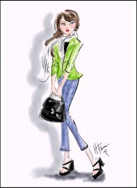 Fashion Illustration by Heather Fonseca