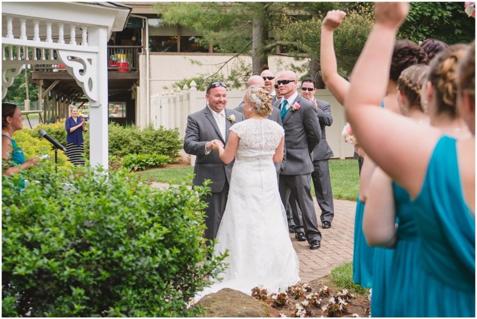 pennsauken country club, wedding ceremony, gazebo, south jersey,
