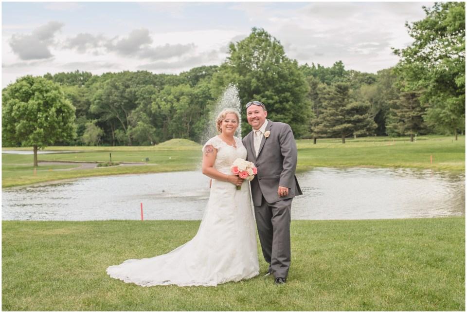 pennsauken country club, wedding, bride groom portraits