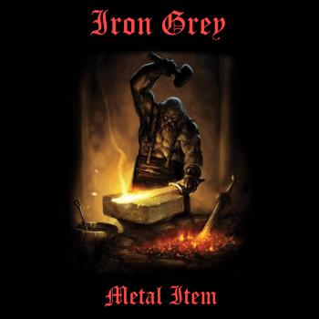 Iron-Grey-Metal-Item