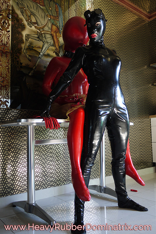 rubber slave girl
