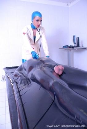 rubber mistress vac bed