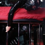 rubber mistress gasmask slaves