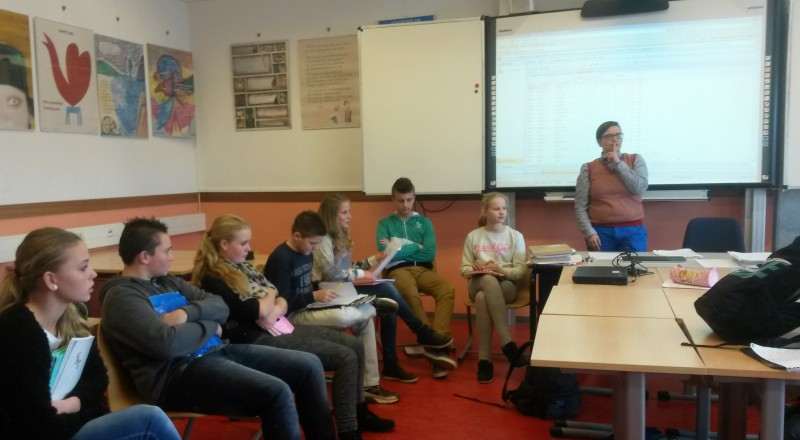 Every period at Leon van Gelder high school in the Netherlands begins with a group circle. Part of the school's mission is to help the emotional development of students by creating strong relationships between teachers and students.