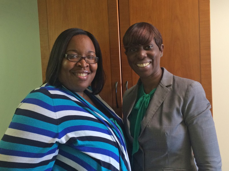 Assistant principals Shernell Thomas-Daley and Lynelle Rennis set a no-nonsense but compassionate tone at BCA.