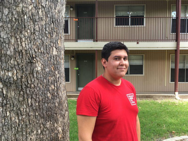 Mizraim Belman Guerrero, age 19, sophomore at Georgetown University.