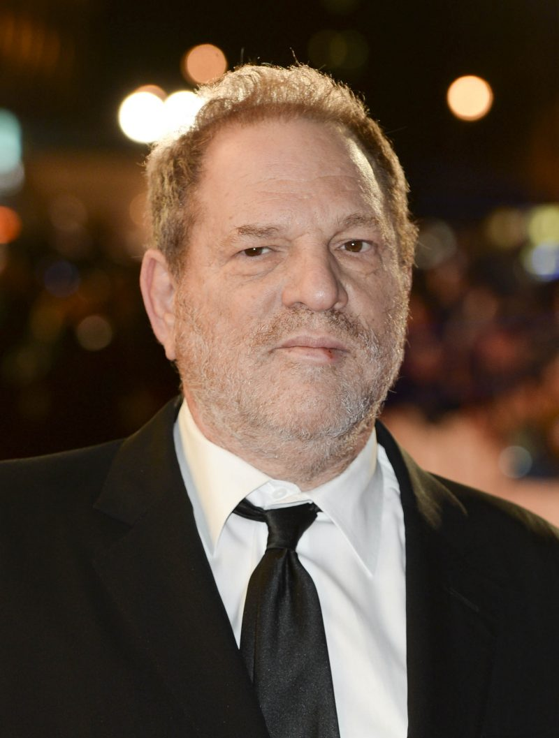 A 2015 file photo of movie producer Harvey Weinstein, who has been accused of sexual harassment allegations. A leading Hollywood studio has launched an inquiry into allegations of sexual harassment concerning Weinstein, one of its founders.