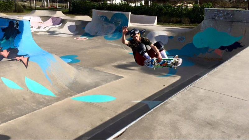 Adam Salomon is an avid skateboarder and his mother says the hobby has greatly helped her son.