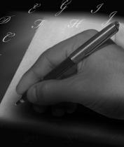 hechizos de amor - escribir en una hoja
