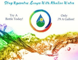 Come in and cool down with our alkaline water Onlyhellip