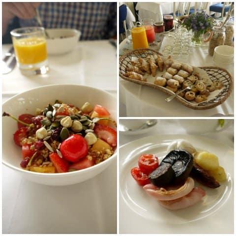 Breakfast at Tresanton