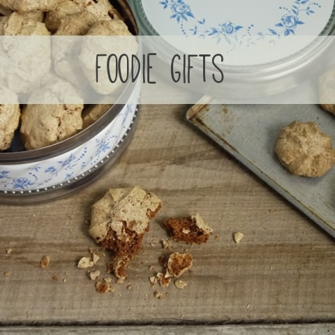 Foodie Gifts to make at home | The Hedgecombers