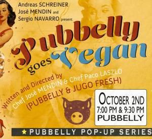 Pubbelly Vegan Flyer 1