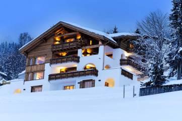 Chesa Falcun, Klosters, Švica