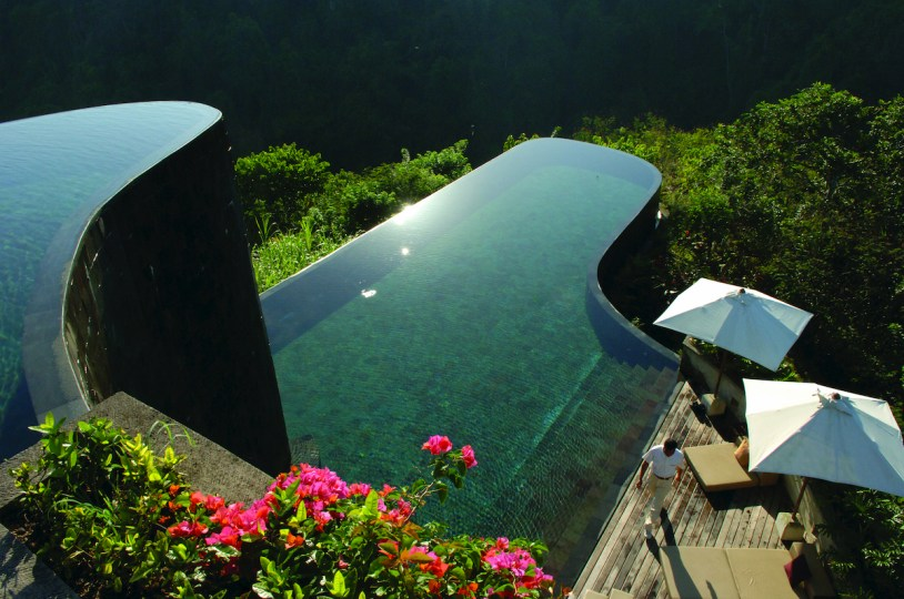 Hanging Gardens Ubud Hotel Luxury Pool, Bali