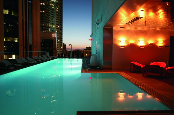 The Standard Rooftop Pool, Los Angeles