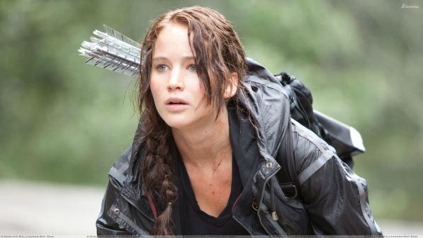 13. Katniss Everdeen (Jennifer Lawrence) - filmi Igre lakote