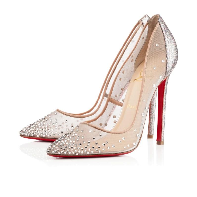 10 najbolj slovitih čevljev Christiana Louboutina: Follies Strass