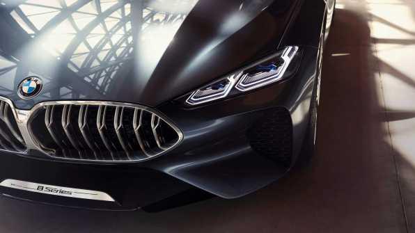 Novi BNovi BMW serije 8 - 2018MW serije 8 - notranjost