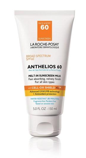 Najboljše kreme za sončenje 2017: 1. La Roche-Posay Anthelios 60 Melt-in Sunscreen Milk