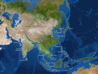 Kako bi bila videti Zemlja, če bi se ves led stalil: Kitajska
