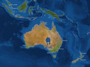 Kako bi bila videti Zemlja, če bi se ves led stalil: Avstralija