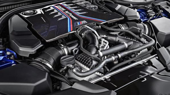Notranjost - BMW M5 - 2018