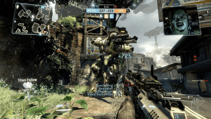 Titanfall gameplay