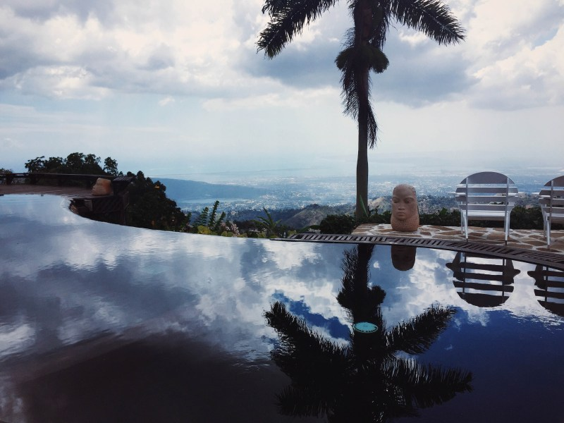 Infinity Pool atop Strawberry Hill