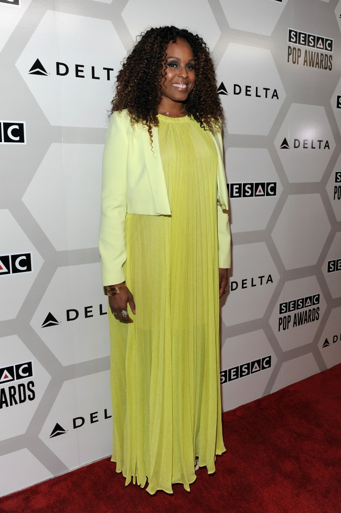 NEW YORK, NY - MAY 04:  Singer-songwriter Angela Hunte attends the 2015 SESAC Pop Music Awards at New York Public Library on May 4, 2015 in New York City.  (Photo by Shawn Ehlers/Getty Images for SESAC) *** Local Caption *** Angela Hunte