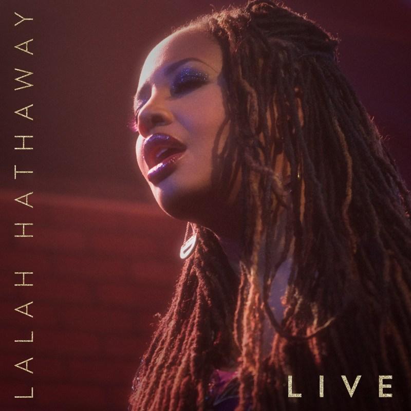 Lalah Hathaway Live-Album cover art