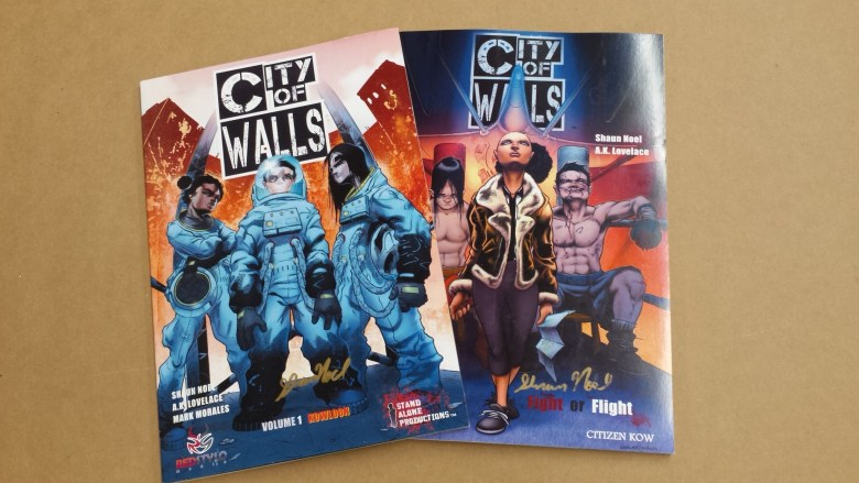 City Of Walls 1 and 2