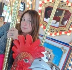 Henry Doorly Zoo & Aquarium carousel rooster jeanne