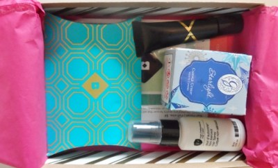December Birchbox Sparkle and Shine Contents