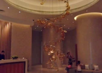 Grand Hyatt Macau Isla Spa lobby