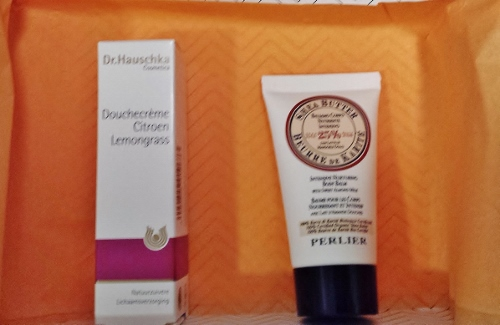 June 2014 Birchbox dr hauschka perlier body cream